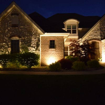 kenosha outdoor lighting, libertyville landscape lighting, exterior lighting lake bluff