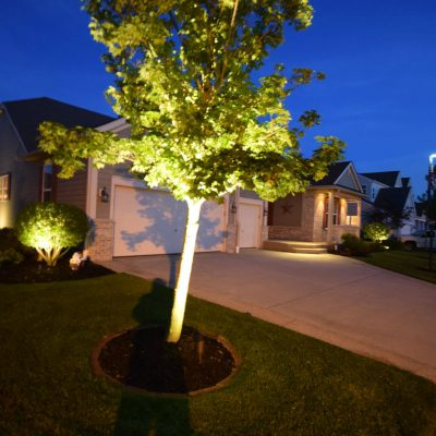 kenosha landscape lighting, outdoor lighting libertyville, exterior lighting lake bluff