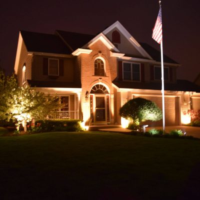 exterior lighting kenosha, outdoor light installation libertyville, lake bluff exterior lighting