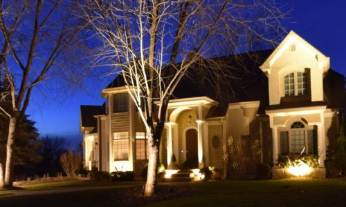 kenosha landscape lighting, volo landscape lighting, zion landscape lighting