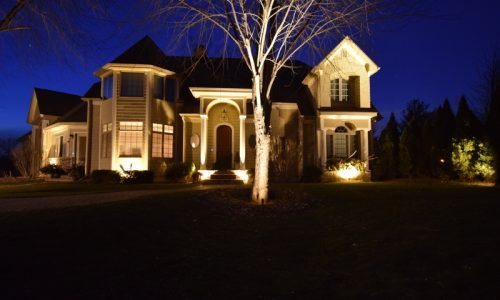green oaks landscape lighting, mettawa landscape lighting, chicago landscape lighting