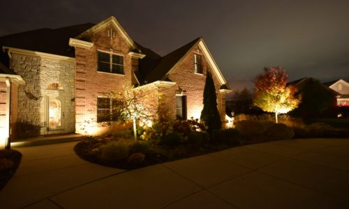 landscape lighting north chicago, lindenhurst landscape lighting, lake bluff landscape lighting