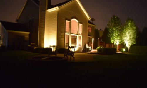 landscape lighting lake villa, landscape lighting highwood, landscape lighting kildeer