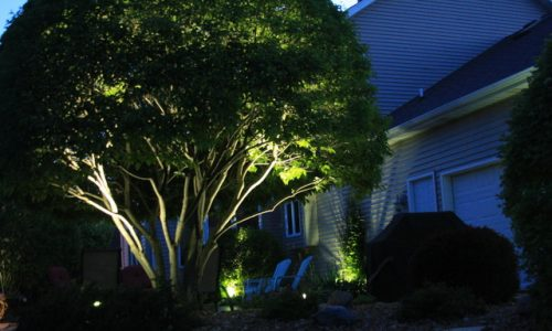 landscape lighting trevor, outdoor lighting wilmot, landscape lighting silver lake