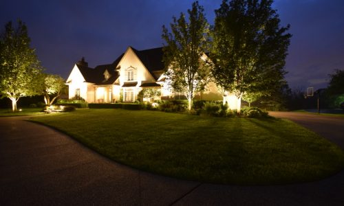 outdoor lighting libertyville, security lighting libertyville, landscape lighting mundelein