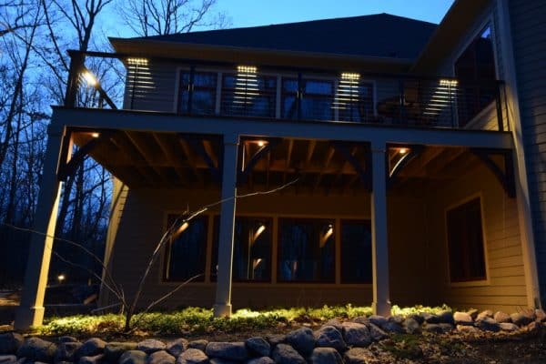 architectural lighting kenosha, architectural lighting bannockburn, vernon hills landscape lighting