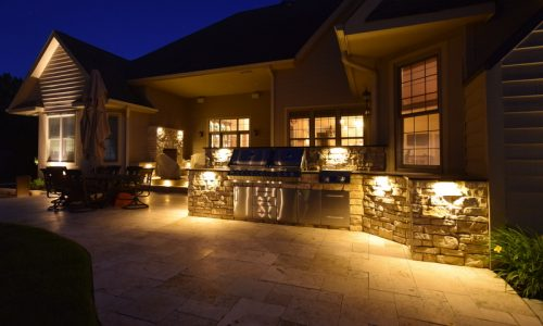 pleasant prairie accent lighting, outdoor lighting pleasant prairie, pleasant prairie landscape lighting