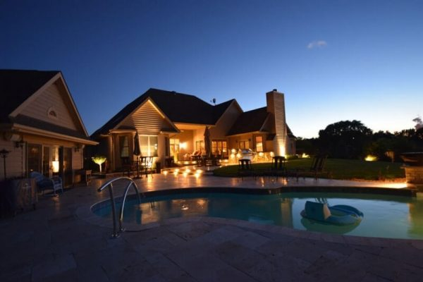 outdoor lighting kenosha, patio lighting, pool lighting
