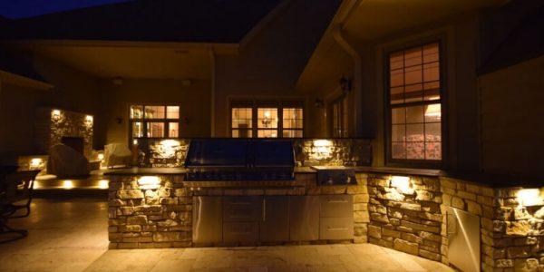 kenosha patio lighting, patio light installation libertyville, racine patio light installation