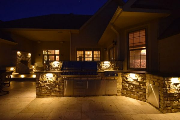 kenosha patio lighting, patio light installation libertyville, racine patio light installation