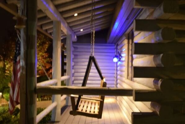 outdoor LED lights kenosha, outdoor lighting libertyville, lake bluff exterior lighting