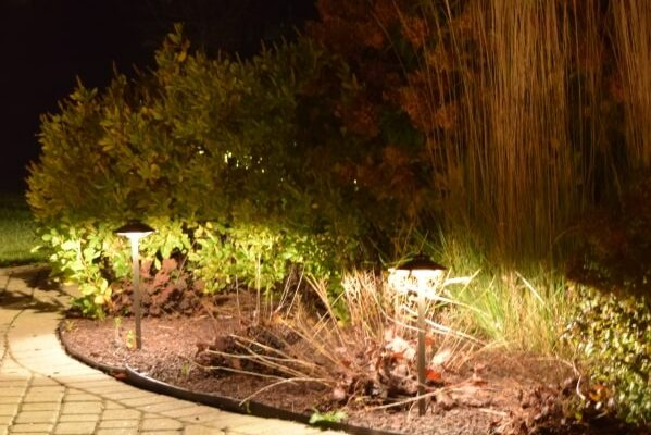 outdoor lighting kenosha, libertyville landscape lighting, exterior lights installation lake bluff