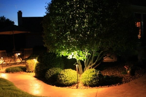 kenosha walkway lighting, pathway lighting libertyville, outdoor accent lighting lake bluff