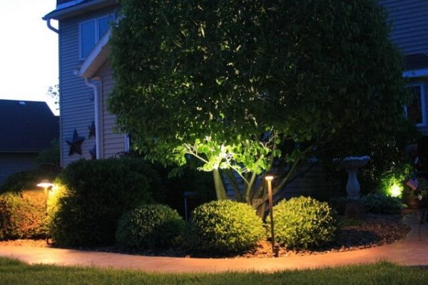 kenosha landscape lighting, outdoor landscape lighting libertyville, outdoor led lights lake bluff