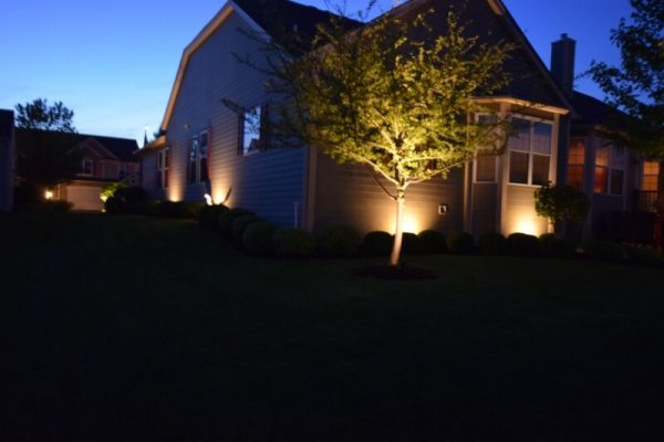 outdoor lighting kenosha, exterior accent lights libertyville, landscape lighting lake bluff