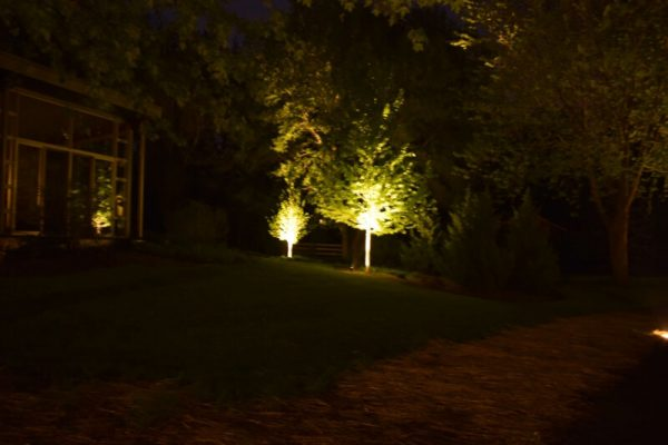 landscape lighting kenosha, libertyville outdoor accent lights, lake bluff exterior lighting