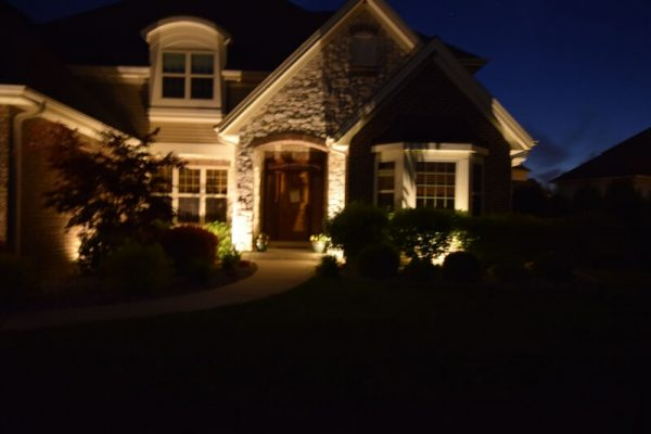 kenosha landscape lighting, outdoor lighting lake bluff, exterior lighting libertyville