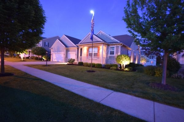 landscape lighting lake bluff, outdoor lighting lake bluff, lake bluff exterior lighting