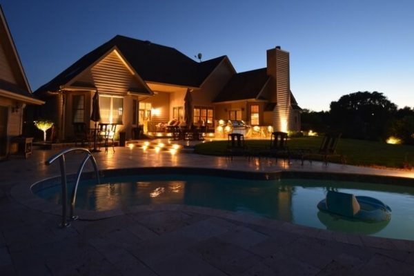 patio lighting kenosha, deck lighting, pool lighting