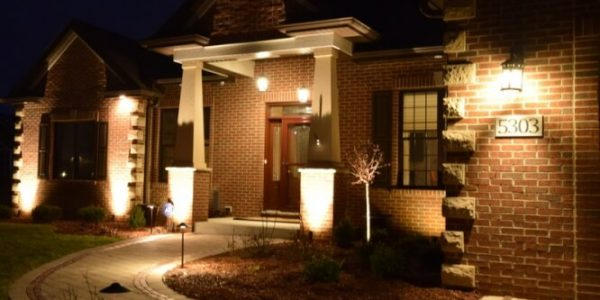 porch lighting, walkway lighting, outdoor lighting kenosha