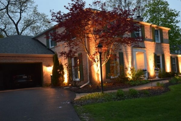 landcape lighting kenosha, landscape lighting racine, outdoor lighting