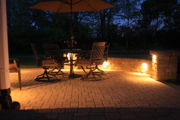 trevor landscape lighting, kenosha landscape lighting, pleasant prairie landscape lighting