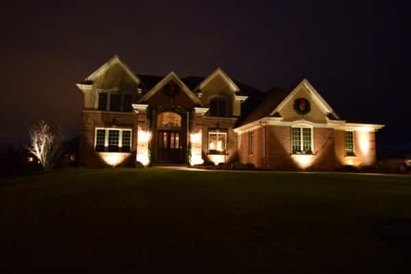 Kichler Lighting Chicago, accent lighting chicago, mikes landscape lighting chicago