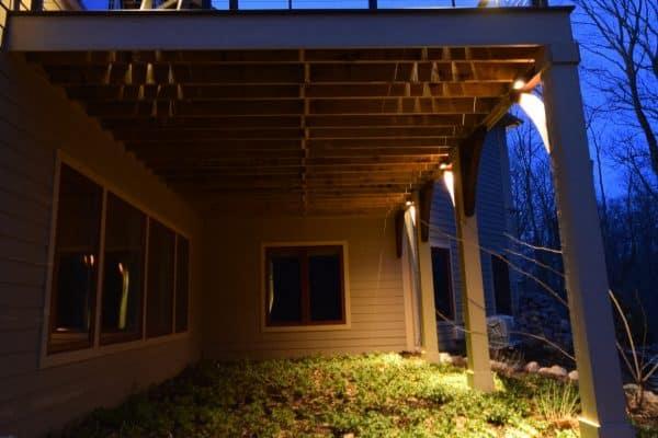 Mike's Landscape Lighting vernon hills, patio lighting, garden lighting