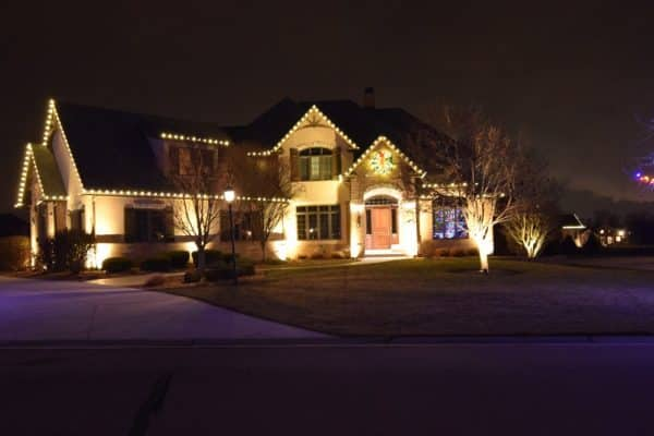christmas light services, christmas tree lighting service