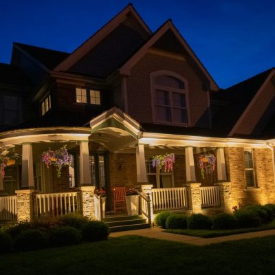 outdoor lighting installation, professional outdoor accent lighting, mikes landscape lighting
