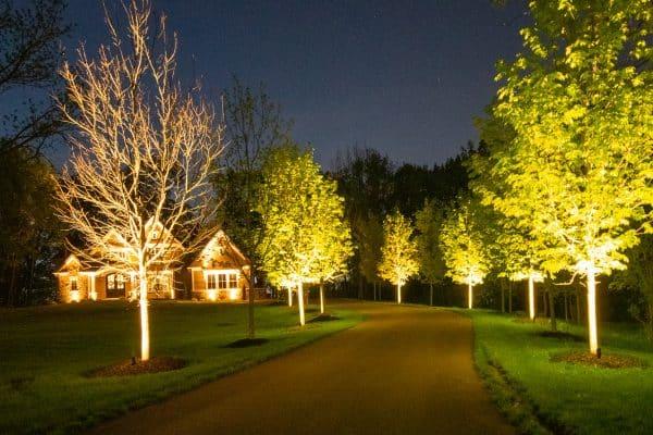 professional landscape lighting, outdoor lighting, mikes landscape lighting
