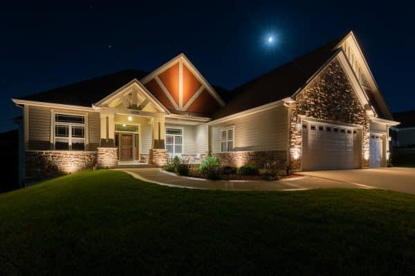 mikes landscape lighting, outdoor lighting, professional landscape lighting installation