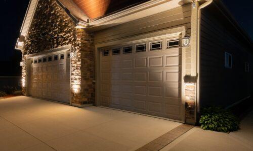 mikes landscape lighting, outdoor lighting installation, outdoor accent light installation
