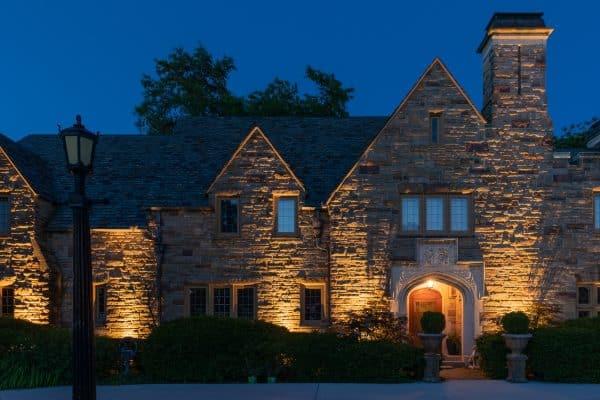 mikes landscape lighting, professional landscape lighting, outdoor lighting installation