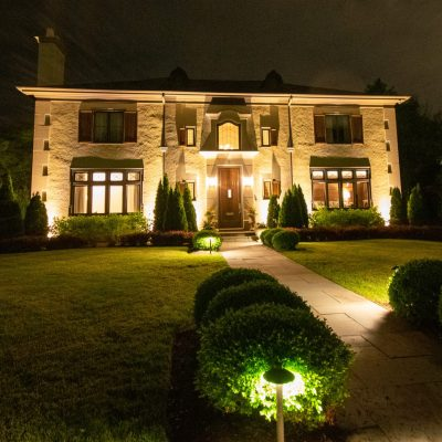 mikes landscape lighting, outdoor lighting, landscape lighting installation
