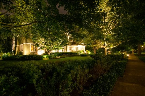 professional landscape lighting, mikes landscape lighting, outdoor lighting