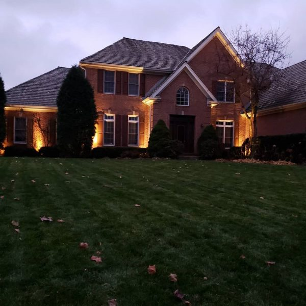 outdoor lighting in lake county il, lake county il landscape lighting, lake county il outdoor lighting