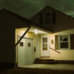 outdoor house lighting, front porch lighting, house and landscape lighting