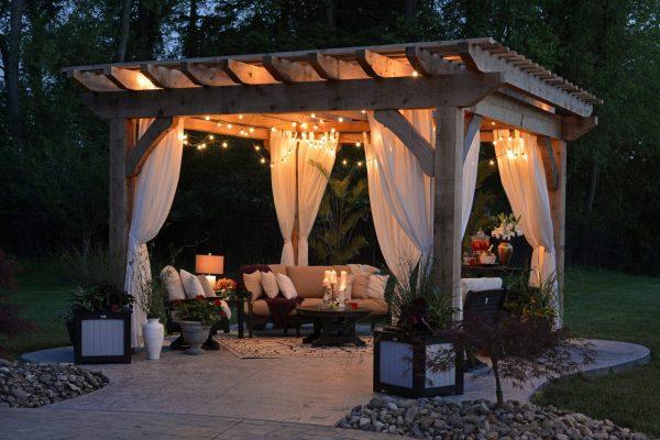 patio lighting in kenosha, patio lighting installation, installing patio lights