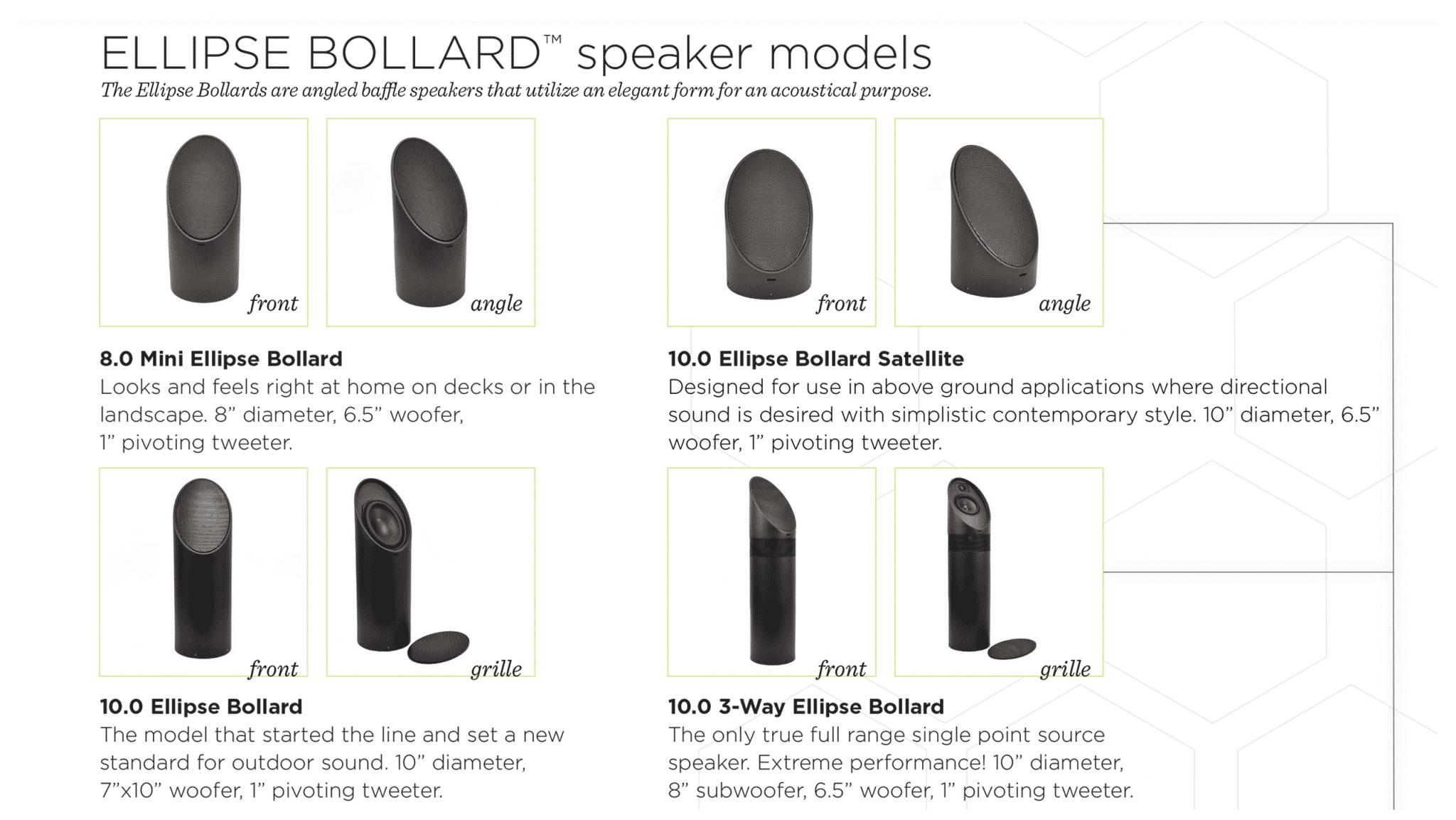 outdoor audio, outdoor speakers, mikes landscape lighting