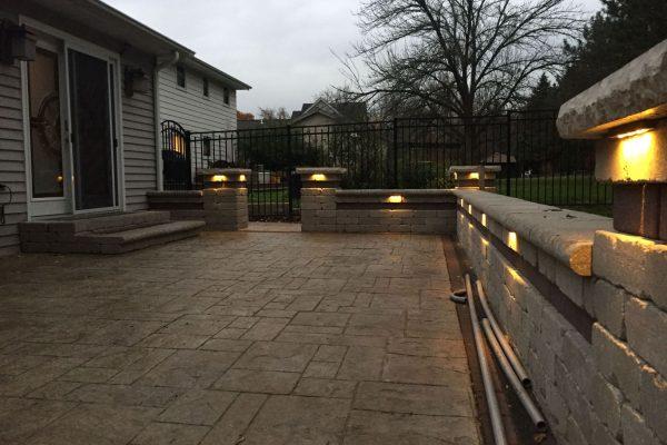 installing lights on a deck in kenosha, deck light installation in kenosha, kenosha deck lighting installation professionals