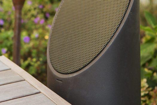 barrington outdoor speakers, outdoor audio in barrington il, mikes landscape lighting