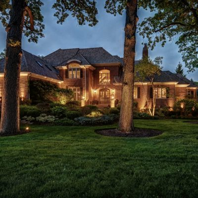 landscape lighting in northbrook, northbrook landscape lighting, mikes landscape lighting