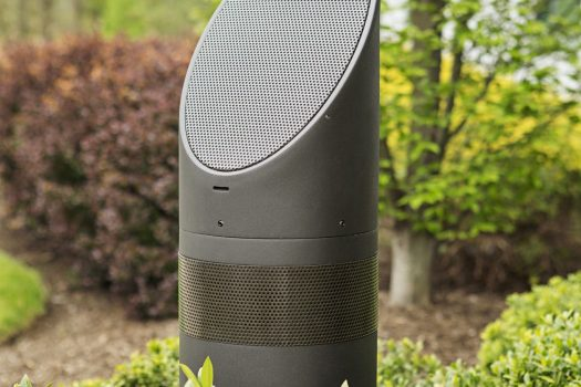 glenview outdoor audio, outdoor audio system glenview, mikes landscape lighting