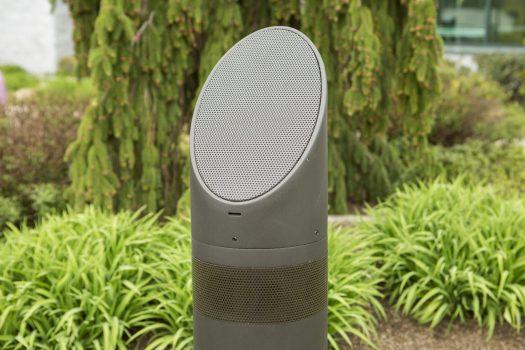 libertyville outdoor speakers, outdoor audio in libertyville, mikes landscape lighting