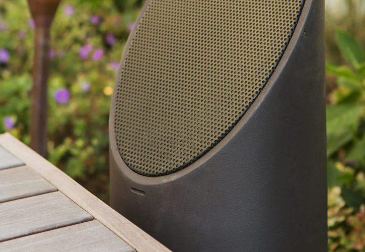 outdoor audio speakers, mikes landscape lighting, garden speakers