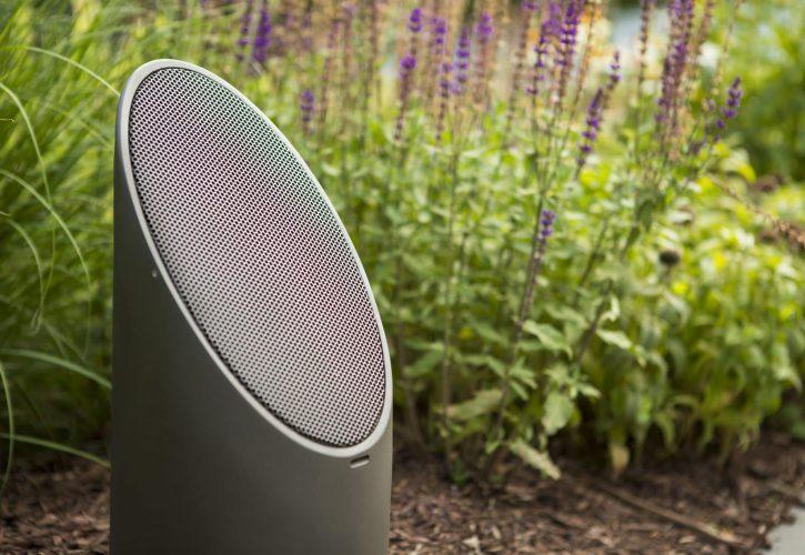 outdoor audio speakers, mikes landscape lighting, outdoor audio installation