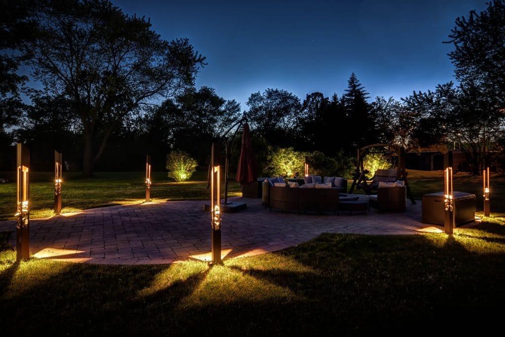 how do you plan outdoor landscape lighting, planning landscape lighting, mike's landscape lighting
