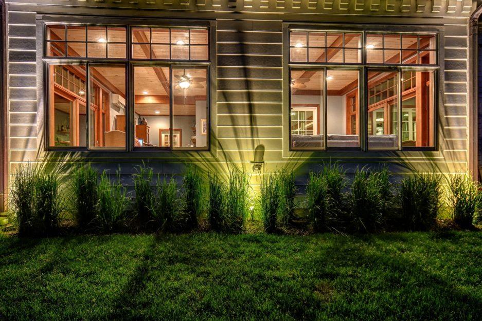 landscape lighting in barrington, barrington outdoor lighting, mikes landscape lighting