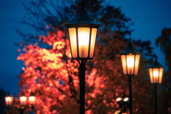 security lighting installation, installing security lights, lights for security installation